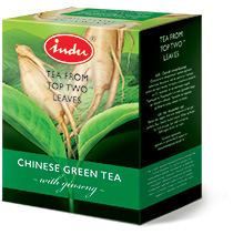 GREEN TEA WITH GINSENG