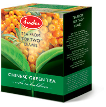 GREEN TEA WITH SEABUCKTHORN